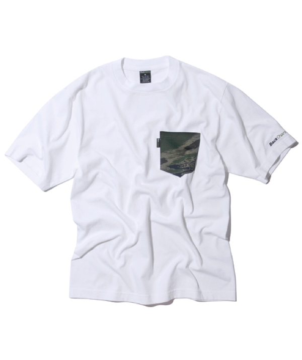 GHOSTLION CAMO POCKET T-wht1
