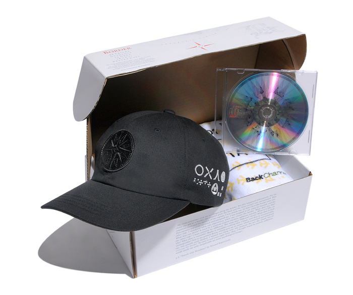 BACK CHANNEL × B.D. × Mr.Itagaki a.k.a. Ita-cho BORDER SPECIAL BOX SET