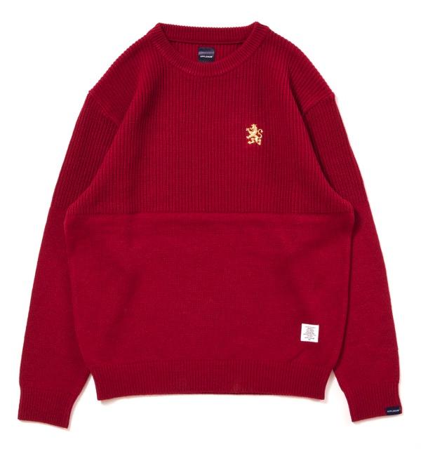mixedcrewnecksweater_red1