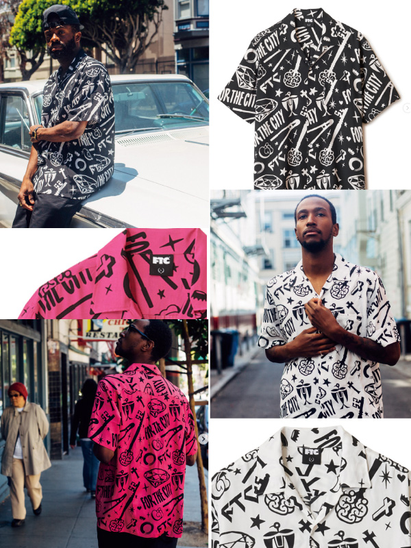 FTC x MIKE GIANT RAYON SHIRT