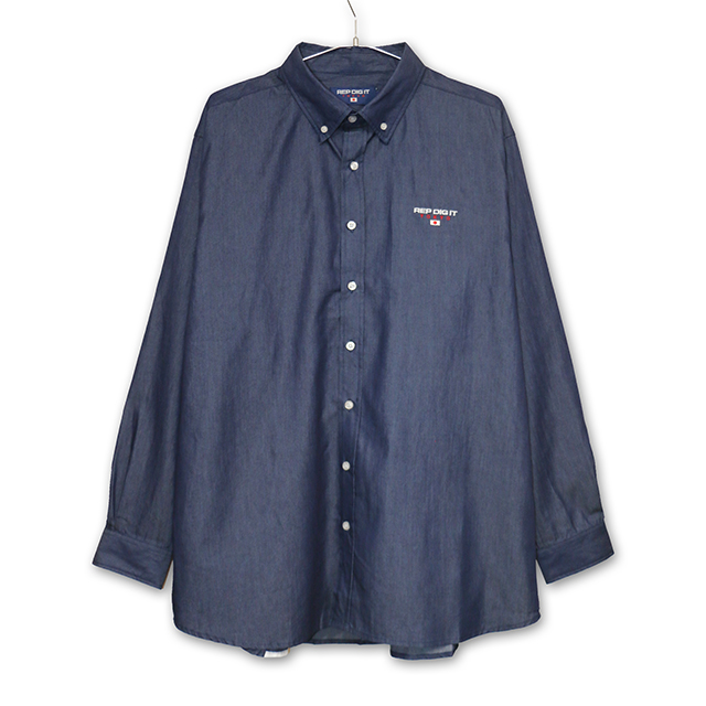 REP DIG IT デニムシャツ T-pablow