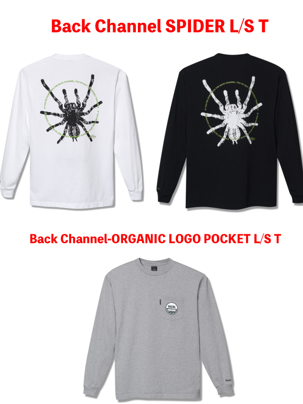 Back Channel SPIDER L/S T
